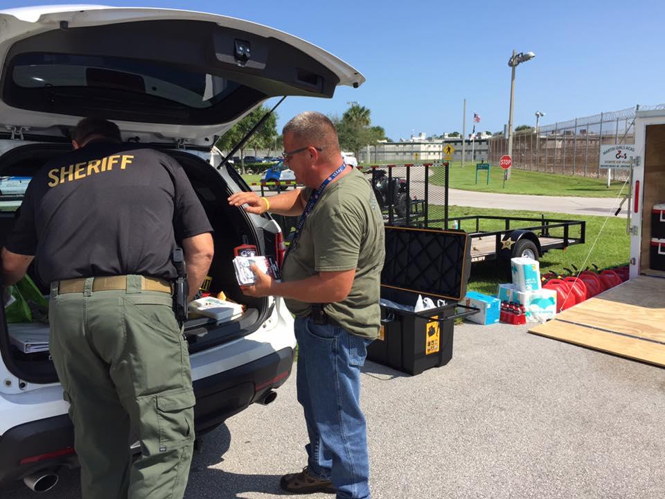 Martin County Sheriff's Office deploys to Keys   WPEC
