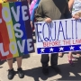 Hundreds took the streets of Kearney to support the LGBTQ community