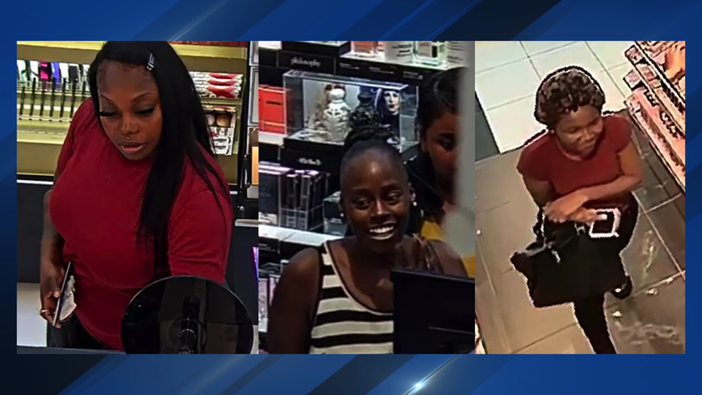 Police looking for 3 women accused of stealing from Austin