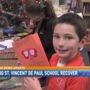 Local students helping St. Vincent de Paul recover from fire