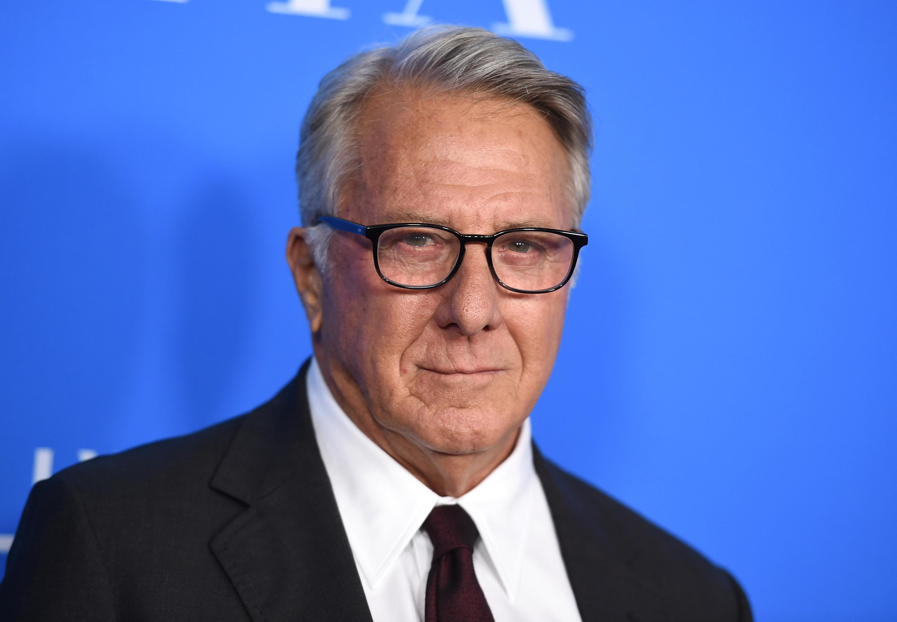 "FILE - In this Aug. 2, 2017 file photo, Dustin Hoffman arrives at the Hollywood Foreign Press Association Grants Banquet in Beverly Hills, Calif. Hoffman is apologizing for alleged sexual harassment of a 17-year-old intern in 1985. Writer Anna Graham Hunter alleges that the 80-year-old actor groped her on the set of TV movie ""Death of a Salesman"" and ""talked about sex to me and in front of me."" (Photo by Jordan Strauss/Invision/AP, File)"