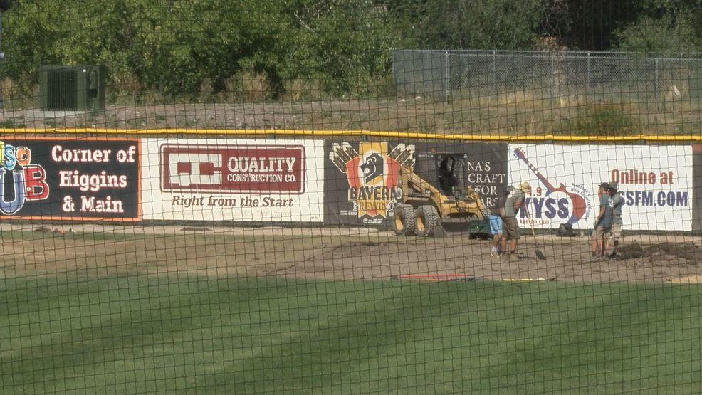 Missoula Osprey hope to have field ready next week | KECI