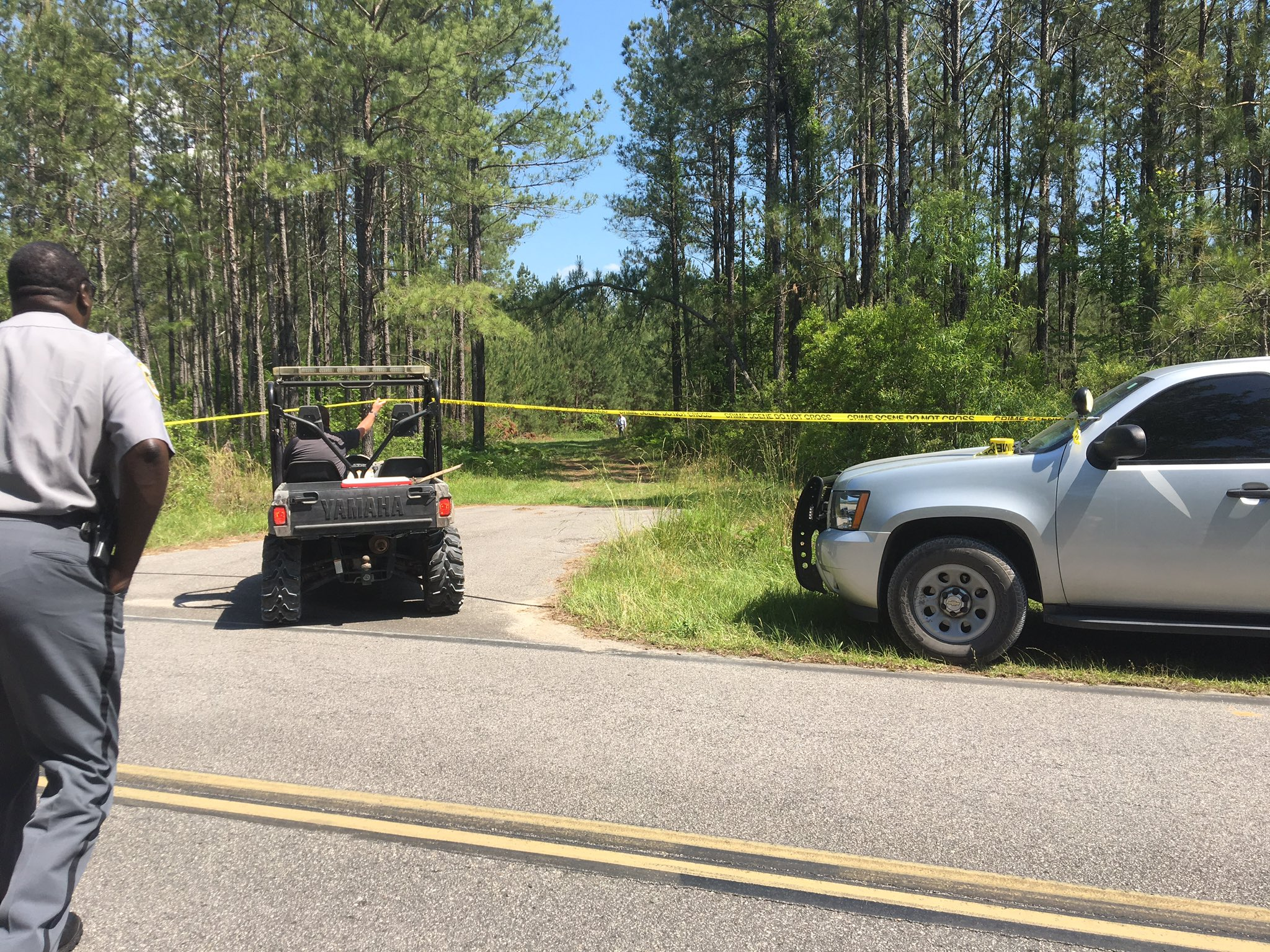 Horry County police are on scene off of Horse Pen Bay Road where a body was found. (Eddie Kadhim/WPDE)