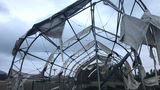 Four barns suffer damage after tornado touches down near Lebanon