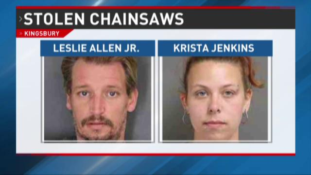 Arrests made in August chainsaw larcenies