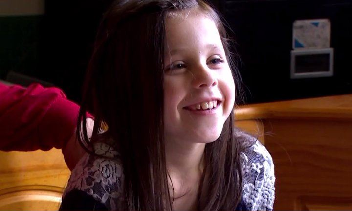 Cheyene, who is now 9-years old, was rescued from a squalid home. She will receive $4 million from the state. (Photo: KOMO News)<p></p>