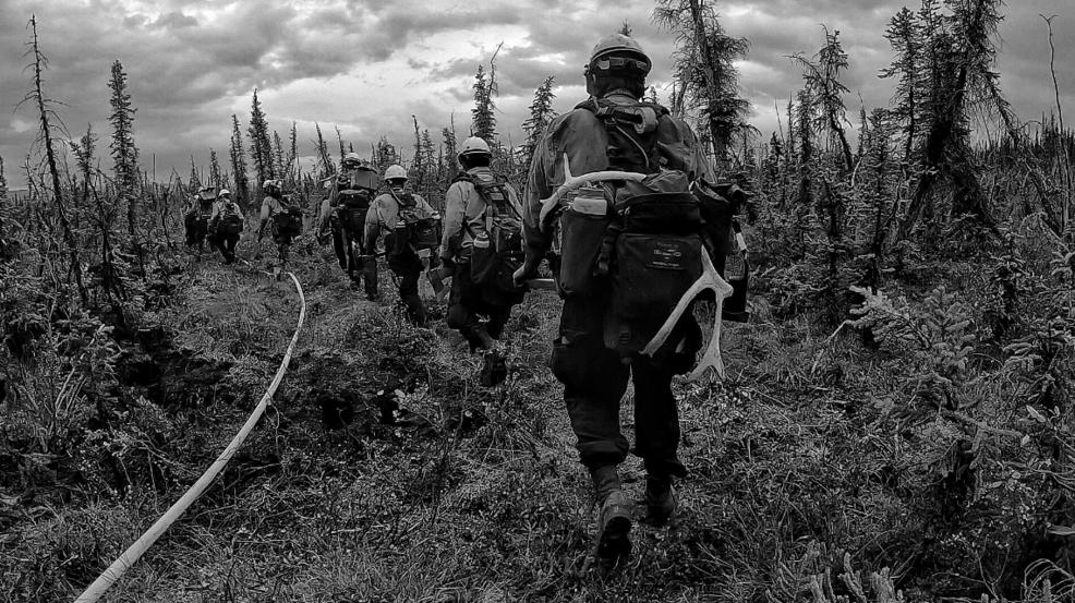 PHOTOS: Medford Crew 10 fighting Alaskan wildfires
