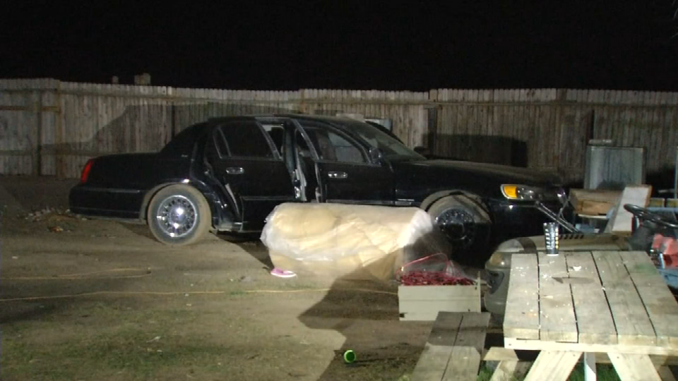 Stolen cars, motorcycle and box truck found at South Bexar County chop shop on Thursday, March 8, 2018. (Photo: Sinclair Broadcast Group)