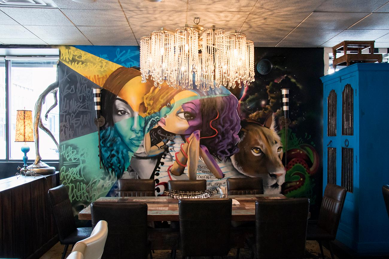 Located in Covington, Agave and Rye offers creative, chef-inspired foods alongside an endless selection of bourbon, tequila, and craft cocktails. The walls are bright and full of energy with murals done by Columbus artist Poem Santiago. ADDRESS: 635 Madison Avenue (41011) / Image: Allison McAdams // Published: 3.1.18