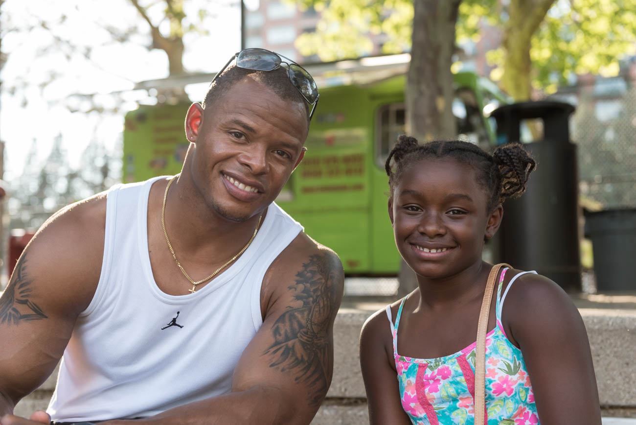 Tyjuan and Sarai Hagler{ }/ Image: Mike Menke