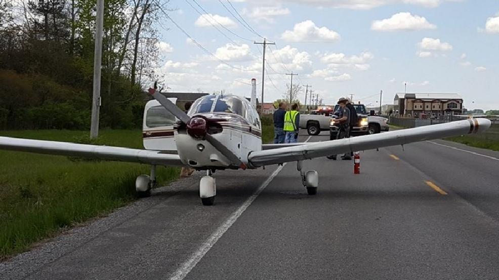 Small Plane Forced To Make Emergency Landing On Batavia