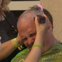Nebraska Medicine staff shaves heads to support children with cancer