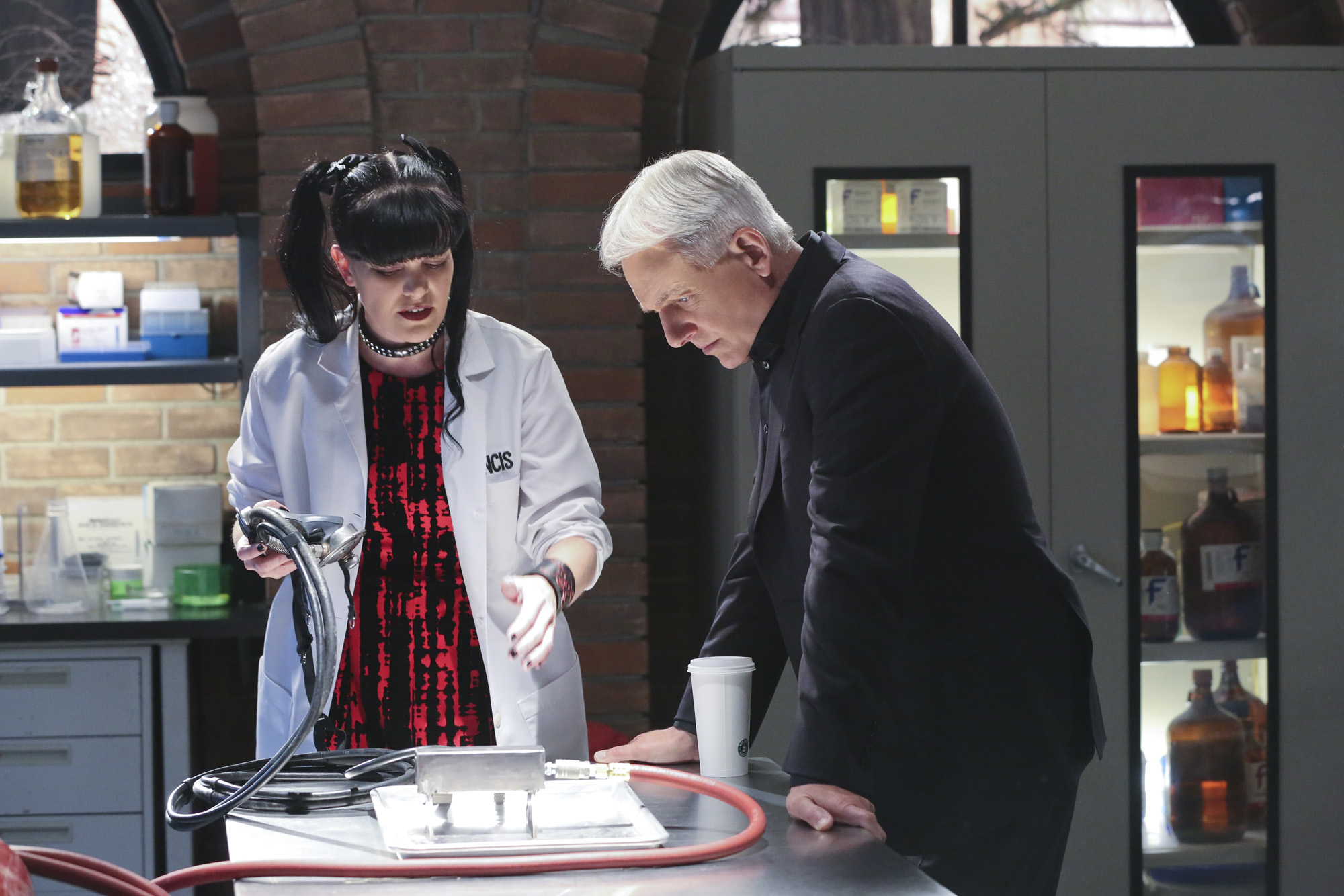 "In this image released by CBS,  Pauley Perrette, left, and Mark Harmon appear in a scene from ""NCIS.""  CBS dominated in the ratings last week with a winning slate of dramas and comedies as well as a Republican presidential debate, which ranked fourth. For the week of Feb. 8-12, the top 10 shows, their networks and viewerships: Â?NCIS,Â? CBS, 16.94 million; ""The Big Bang Theory,Â? CBS, 16.25 million; Â?The Walking Dead,Â? AMC, 13.74 million; Â?Campaign Â?16 Republican Debate,Â? CBS, 13.44 million; Â?NCIS: New Orleans,Â? CBS, 12.59 million; Â?Scorpion,Â? CBS, 11.36 million; Â?Blue Bloods,Â? CBS, 10.92 million; Â?60 Minutes,Â? CBS, 10.42 million; Â?Madam Secretary,Â? CBS, 10.61 million; Â?NCIS: Los Angeles,Â? CBS, 9.76 million. (Michael Yarish/CBS via AP)"