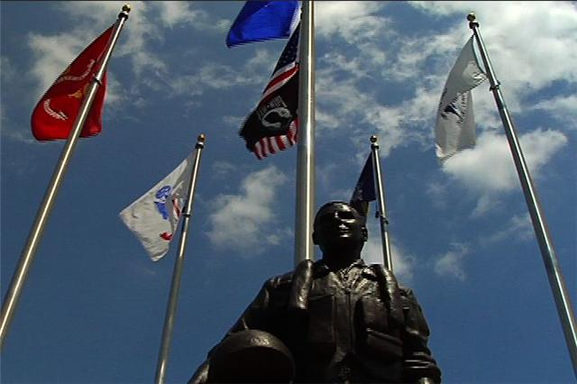 The Swartz Creek Veterans Memorial. / Rob Herman