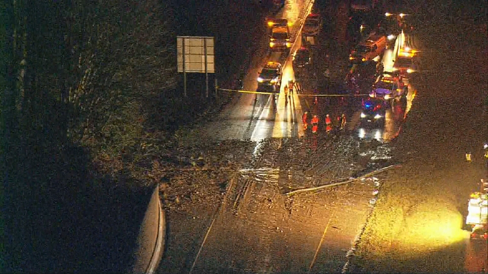 I Westbound Reopens After Massive Mudslide In Issaquah KOMO - Weather issaquah wa hourly
