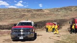 Firefighters contain wildfire near Golden Eagle Park in Sparks