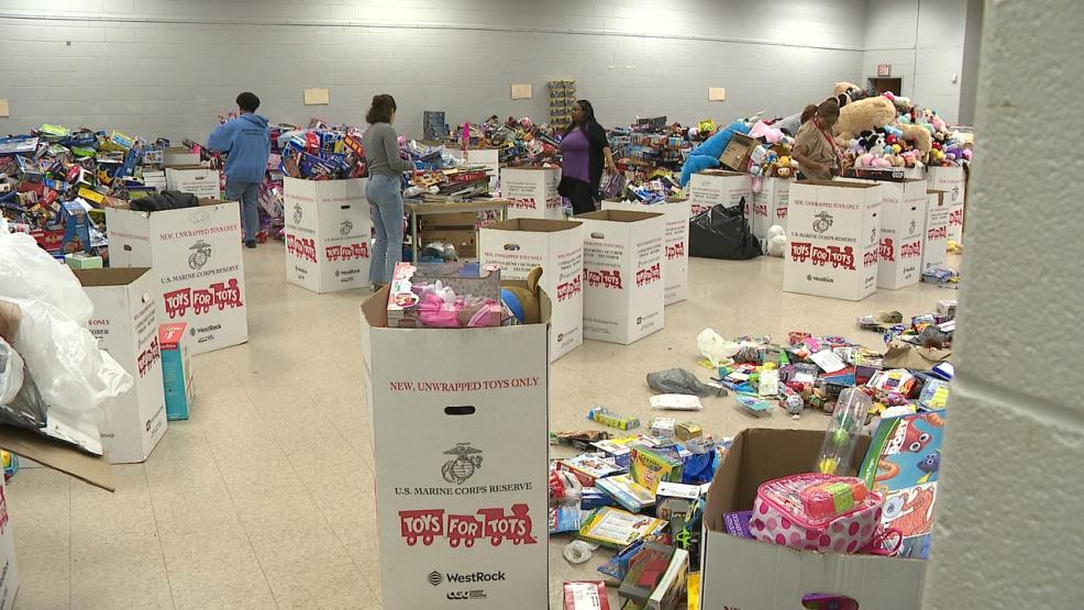 More than 25,000 toys have been collected for Toys for Tots. Nearly half of those came from the ABC 6 single-day event. (WSYX/WTTE)<p></p>