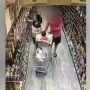 VIDEO | Stranger tries to abduct child from grocery cart