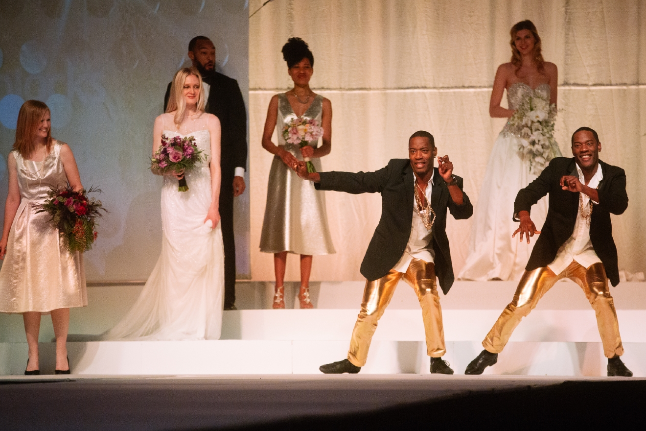 Photos Bridal Style At The Seattle Wedding Fashion Runway Show Seattle Refined