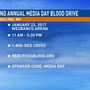 Organizers ask for donations for Media Day Blood Drive